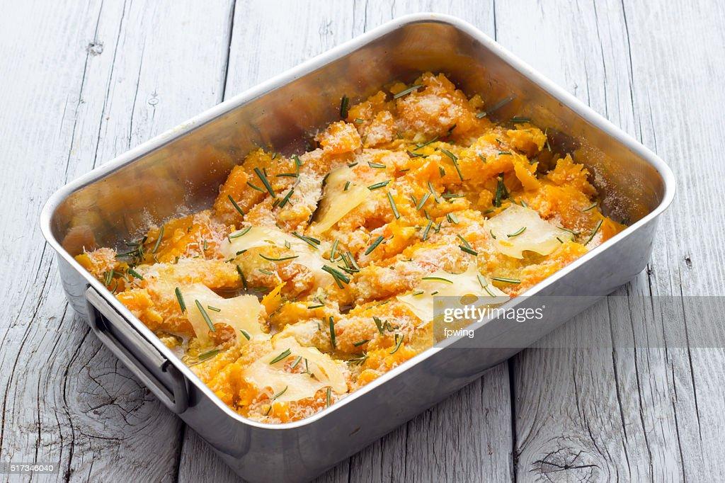 Cuisine citrouille cuites avec du fromage : Photo