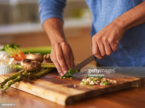 cooking that's a cut above the rest - cooking utensil stock photos and pictures