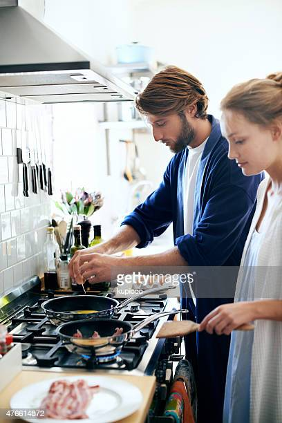 Cooking together since day one