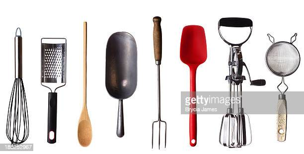Cooking Utensils Border