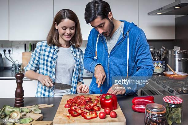 Cooking Vegan food