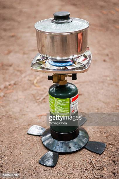 Cooking with Camping Stove