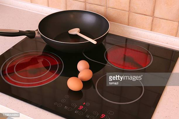 cooktop - cooker stock pictures, royalty-free photos & images
