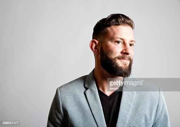 Cool Bearded Man