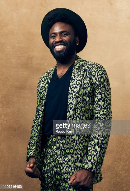 Cool Benson of the film 'Mother's Little Helpers' poses for a portrait at the 2019 SXSW Film Festival Portrait Studio on March 9 2019 in Austin Texas