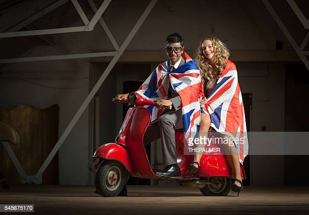 Cool couple with england flag