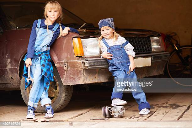 cool girls - tomboy stock photos and pictures