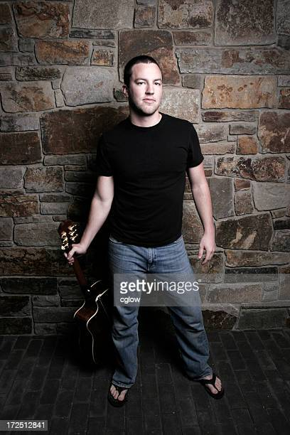 cool guy with guitar