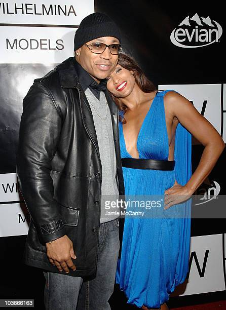 LL Cool J and Beverly Johnson arrive to the 40th Anniversary of Wilhelmina Models at The Angel Orensanz Foundation inNew York November 292007