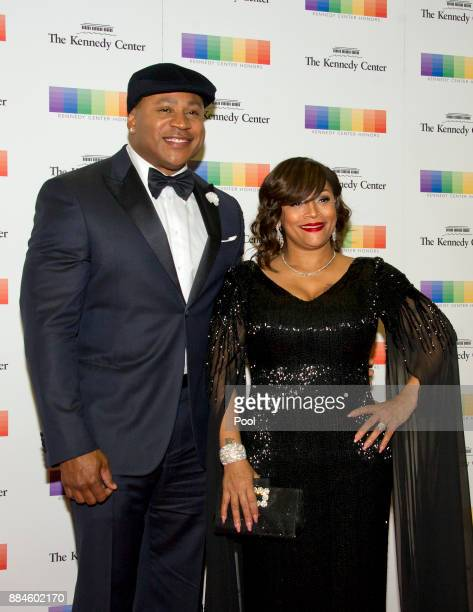 Cool J and his wife Simone Smith arrive for the formal Artist's Dinner honoring the recipients of the 40th Annual Kennedy Center Honors hosted by...