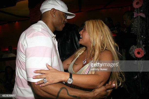 LL Cool J and Lorena Rios during Baby Shower for Lorena Rios Fat Joe's Wife at Cain in New York New York United States