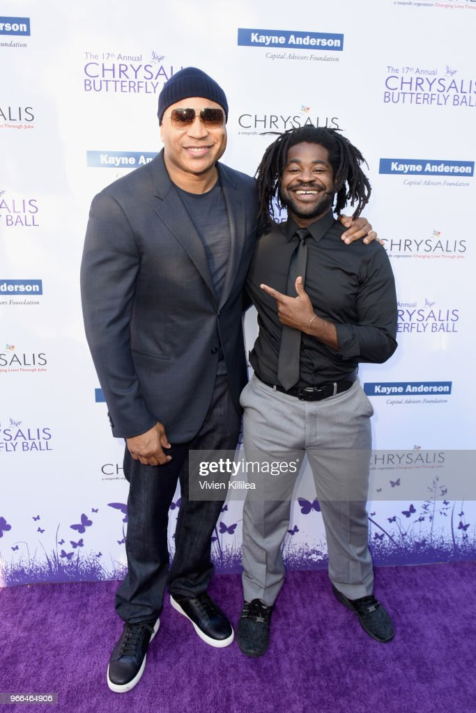 LL Cool J and R.LUM.R attended the 17th Annual Chrysalis Butterfly Ball in Los Angeles, CA on June 2, 2018.