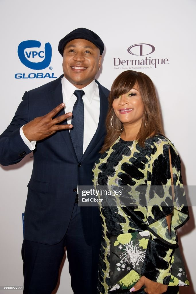 LL Cool J and Simone Smith attend the Harold & Carole Pump Foundation Gala at The Beverly Hilton Hotel on August 11, 2017 in Beverly Hills, California.