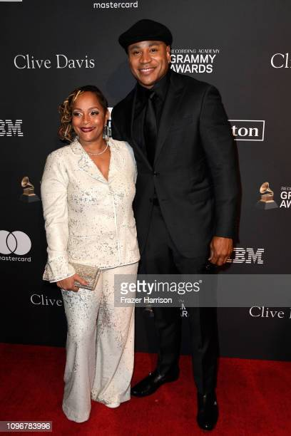Cool J and Simone Smith attend the PreGRAMMY Gala and GRAMMY Salute to Industry Icons Honoring Clarence Avant at The Beverly Hilton Hotel on February...