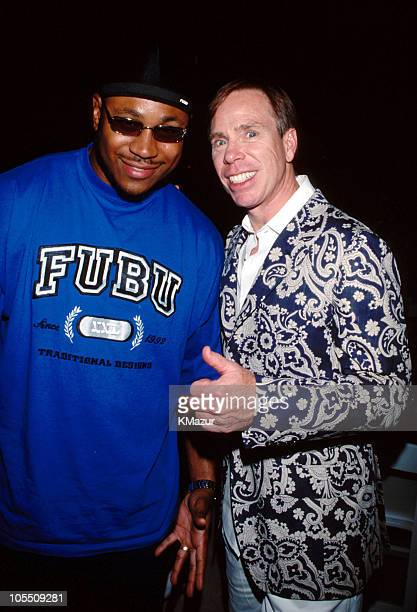 LL Cool J and Tommy Hilfiger during 6th Annual Tommy Hilfiger Race to Erase MS at New York City in New York City New York United States