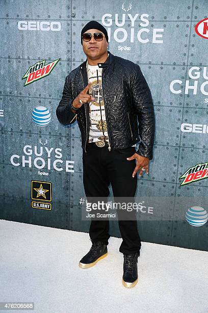 Cool J arrives at Spike TV's 'Guys Choice 2015' at Sony Pictures Studios on June 6 2015 in Culver City California