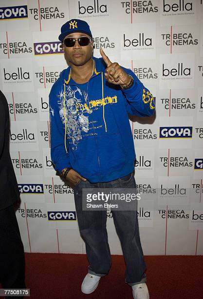 "Cool J arrives at the ""Bella"" New York Premiere on October 25, 2007 at Tribeca Cinemas in New York City."