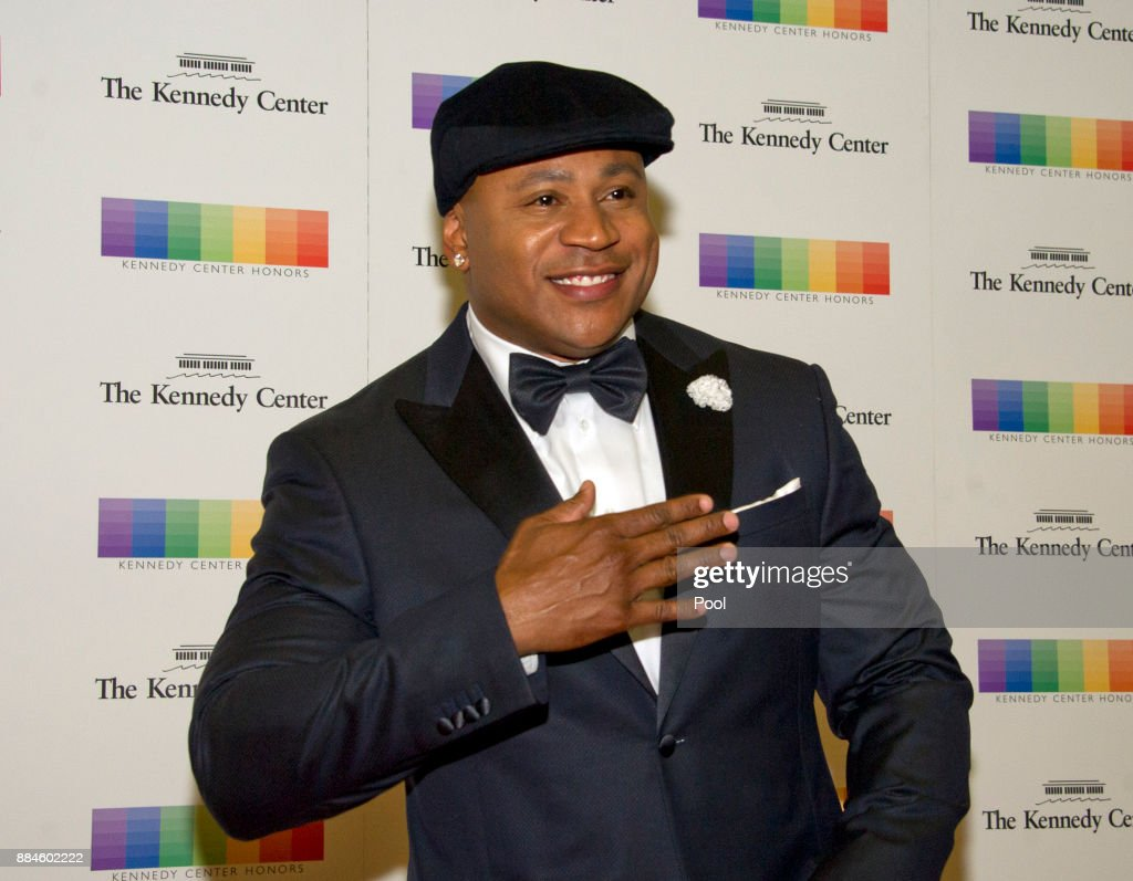 LL Cool J arrives for the formal Artist's Dinner honoring the recipients of the 40th Annual Kennedy Center Honors hosted by United States Secretary of State Rex Tillerson at the US Department of State on December 2, 2017 in Washington, DC. The 2017 honorees are: American dancer and choreographer Carmen de Lavallade; Cuban American singer-songwriter and actress Gloria Estefan; American hip hop artist and entertainment icon LL Cool J; American television writer and producer Norman Lear; and American musician and record producer Lionel Richie.