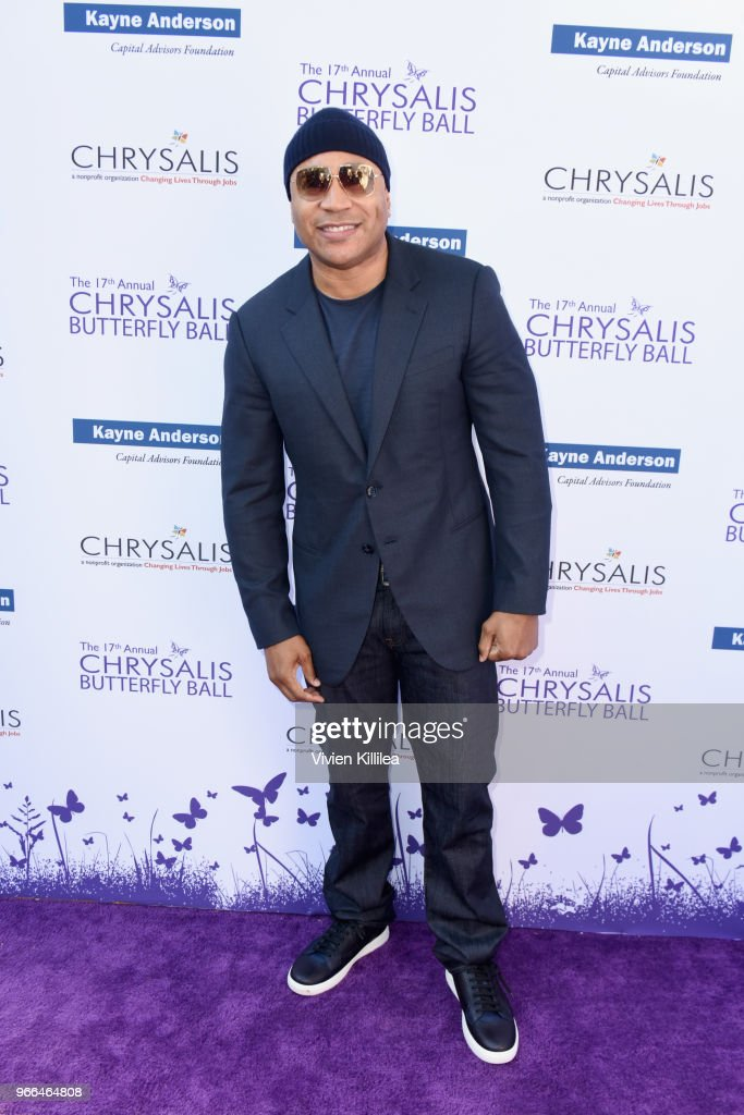 LL Cool J attended the 17th Annual Chrysalis Butterfly Ball in Los Angeles, CA on June 2, 2018.