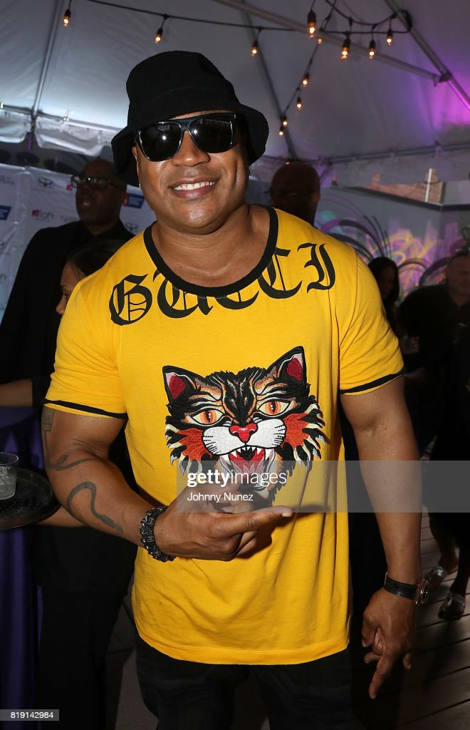 LL Cool J attends A Toast To Summer Hosted By Simone I. Smith at Aloft LIC,NY Hotel on July 19, 2017 in New York City.