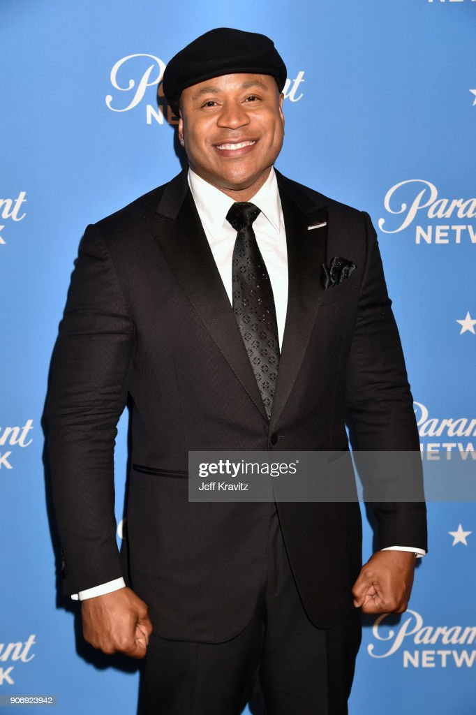 LL Cool J attends Paramount Network launch party at Sunset Tower on January 18, 2018 in Los Angeles, California.