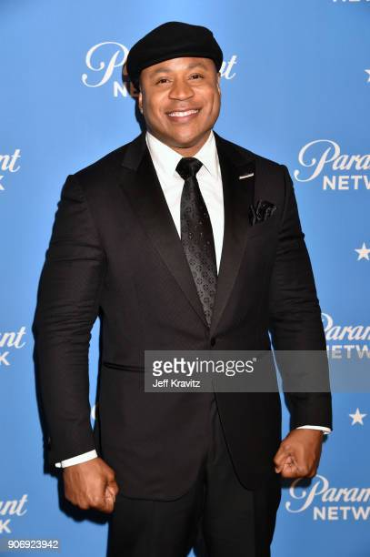 Cool J attends Paramount Network launch party at Sunset Tower on January 18 2018 in Los Angeles California