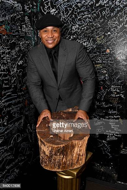 Cool J attends Prince Walk of Fame Induction and 2016 Spring Gala at The Apollo Theater on June 13 2016 in New York City