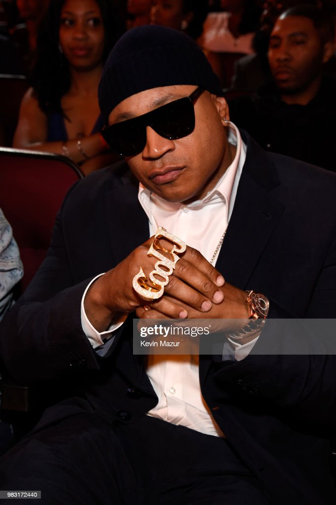 LL Cool J attends the 2018 BET Awards at Microsoft Theater on June 24, 2018 in Los Angeles, California.