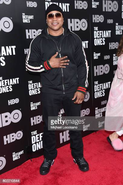 Cool J attends 'The Defiant Ones' premiere at Time Warner Center on June 27 2017 in New York City