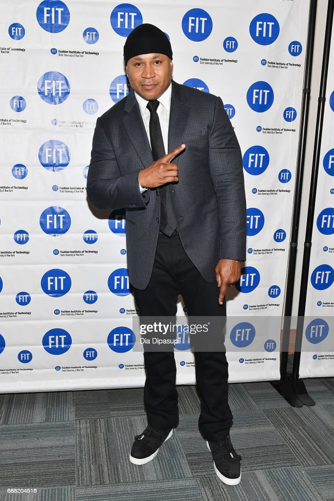 LL Cool J attends The Fashion Institute of Technology's 2017 Commencement Ceremony at Arthur Ashe Stadium on May 25, 2017 in New York City.