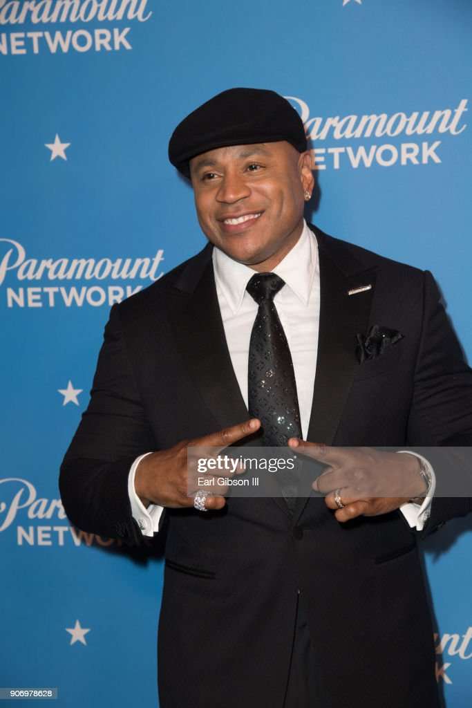 LL Cool J attends the Paramount Network Launch Party at Sunset Tower on January 18, 2018 in Los Angeles, California.