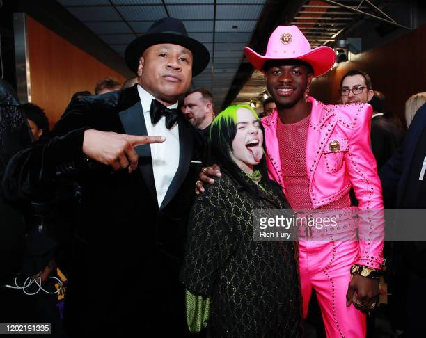 LL Cool J Billie Eilish and Lil Nas X attends the 62nd Annual GRAMMY Awards at STAPLES Center on January 26 2020 in Los Angeles California