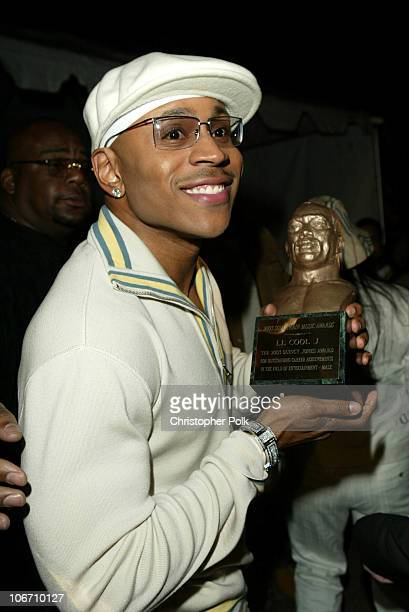 LL Cool J during 17th Annual Soul Train Music Awards Back Stage at Pasadena Civic Auditorium in Pasadena CA United States