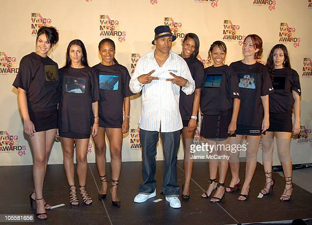 LL Cool J during 2004 MTV Video Music Awards Press Room at American Airlines Arena in Miami Florida United States