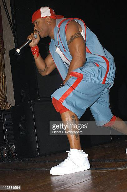 LL Cool J during LL Cool J in concert at Beacon Theater in New York City New York United States