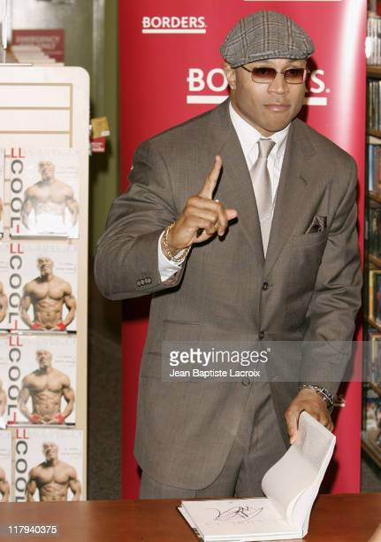 "Cool J during LL Cool J Signs His New Book ""LL Cool J Platinum Workout"" at Borders in California - January 9, 2007 at Borders - Century City in..."