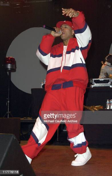 LL Cool J during Motorola's 6th Anniversary Party Benefiting Toys for Tots Inside at Music Box Theatre in Los Angeles California United States