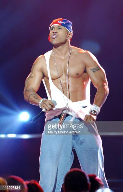 LL Cool J during The 17th Annual Soul Train Music Awards Show at Pasadena Civic Auditorium in Pasadena California United States