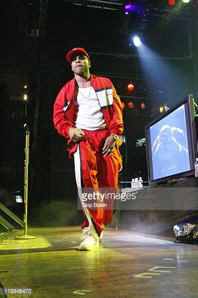 LL Cool J during Visa Signature presents Signature Sounds Live on the Sunset Strip with LL Cool J in Concert February 7 2006 at House of Blues in Los...