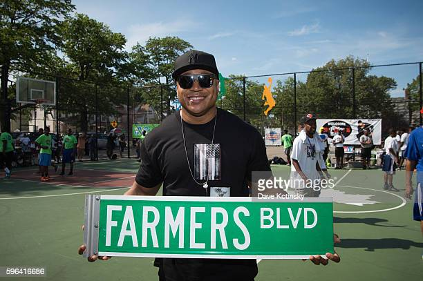 Cool J hosts LL Cool J's 12th Annual Jump Ball Tournament 12th Annual Jump Ball Tournament at Daniel O'Connell Park on August 27 2016 in Queens New...