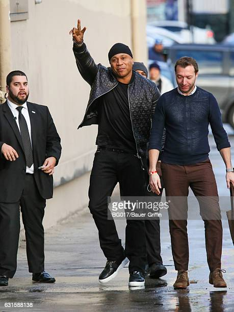 Cool J is seen at 'Jimmy Kimmel Live' on January 12 2017 in Los Angeles California