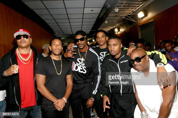 LL Cool J Ludacris Snoop Dogg Cordell Broadus Nas and Slick Rick attend BET Jams Presents 2018 BET Experience Staples Center Concert sponsored by...