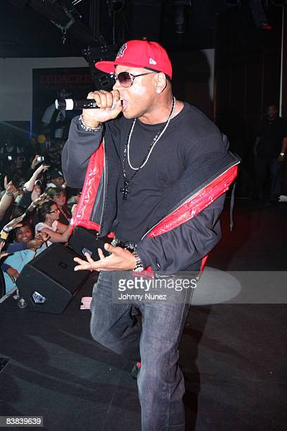 Cool J performs at the Highline Ballroom on November 25, 2008 in New York City.