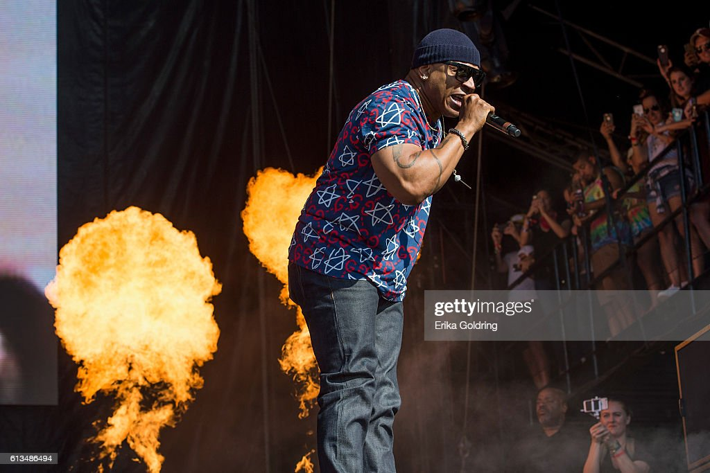 LL Cool J performs during The Austin City Limits Music Festival 2016 at Zilker Park on October 8, 2016 in Austin, Texas.