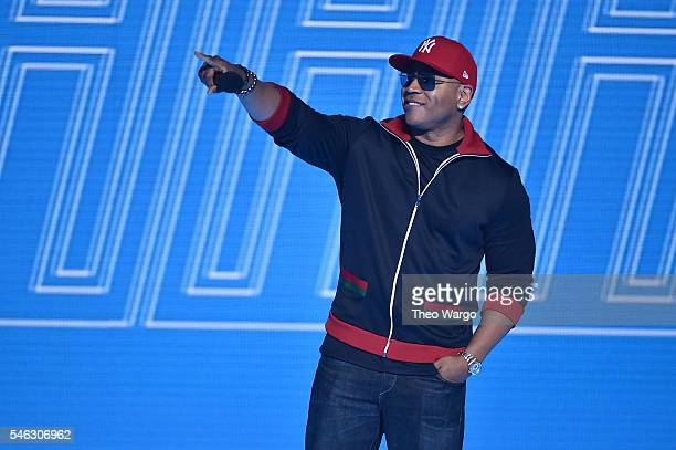 Cool J performs onstage during the VH1 Hip Hop Honors All Hail The Queens at David Geffen Hall on July 11 2016 in New York City