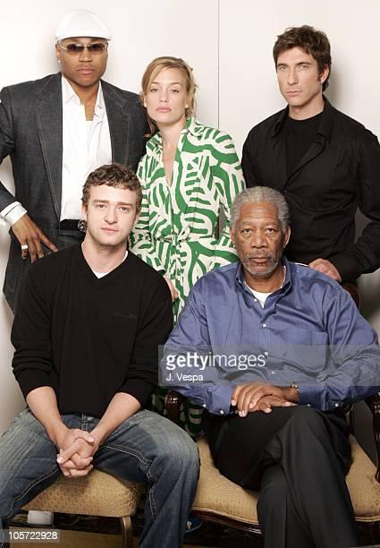 LL Cool J Piper Perabo Dylan McDermott Justin Timberlake and Morgan Freeman