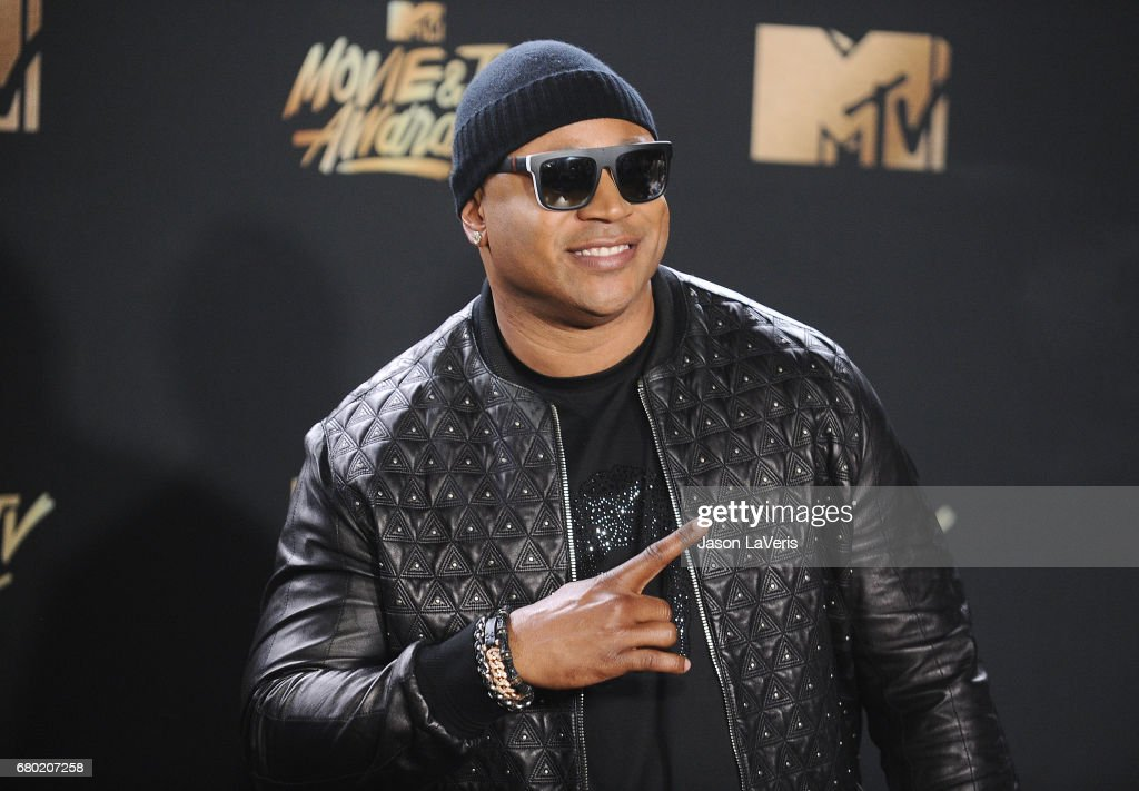 LL Cool J poses in the press room at the 2017 MTV Movie and TV Awards at The Shrine Auditorium on May 7, 2017 in Los Angeles, California.