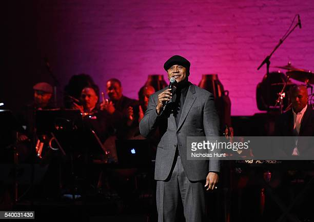 Cool J speaks during the 11th Annual Apollo Theater Spring Gala at The Apollo Theater on June 13 2016 in New York City