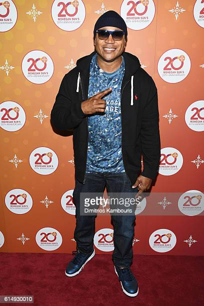 Cool J walks the red carpet before the Ballroom After Party with Chrissy Teigen and LL Cool J for Mohegan Sun's 20th Anniversary at Mohegan Sun on...
