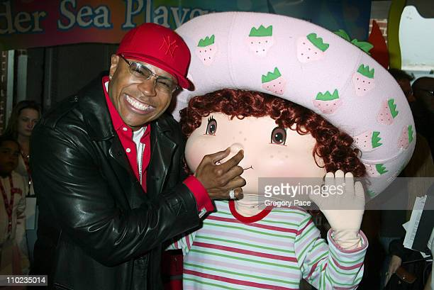 LL Cool J with Strawberry Shortcake during 12th Annual Kids for Kids Celebrity Carnival to Benefit the Elizabeth Glaser Pediatric AIDS Foundation...